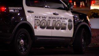 New Britain police cruiser