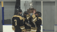 Trumbull-St. Joseph High School Hockey Rivalry Adds New Tradition for Late Cadets Coach