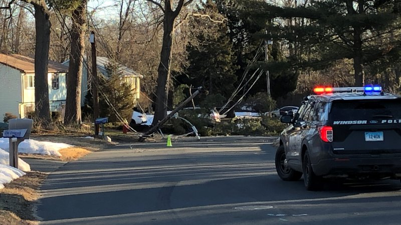 Photos: Stong Wind Causes Damage Across CT