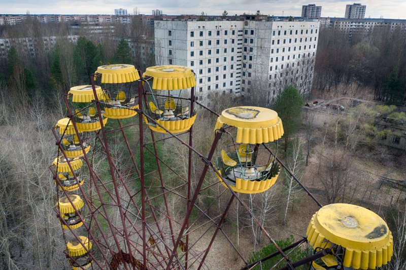 Chernobyl Exclusion Zone in Pictures