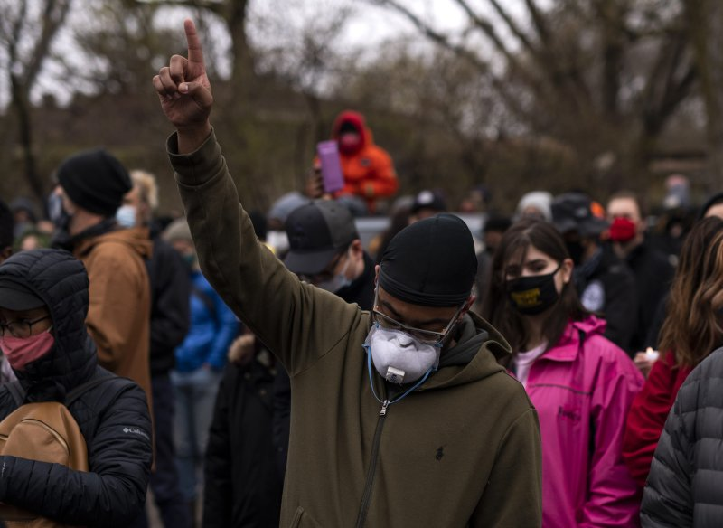 Photos: Vigil, Protests Over Daunte Wright's Death in Brooklyn Center, Minnesota