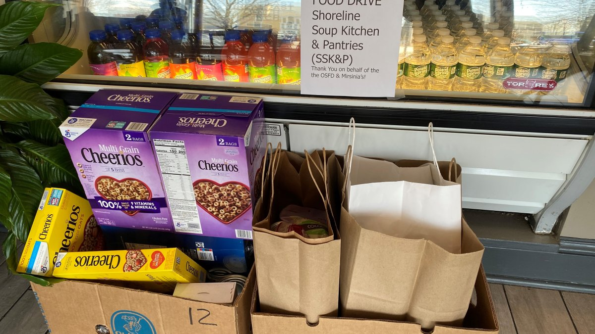 Shoreline Food Drive Held To Support Families With Food Insecurity Nbc Connecticut