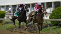 Rombauer Pulls Preakness Stakes Upset