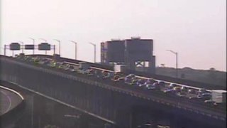 Traffic Backup on Interstate 95 in New London 2