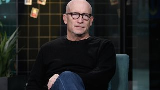 """NEW YORK, NEW YORK - JANUARY 13: Filmmaker Alex Gibney visits the Build Series to discuss his new documentary film """"Citizen K"""" detailing the life of former Russian oligarch Mikhail Khodorkovsky at Build Studio on January 13, 2020 in New York City."""