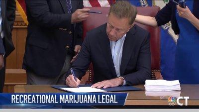 Governor Lamont Signs Connecticut Recreational Marijuana Bill