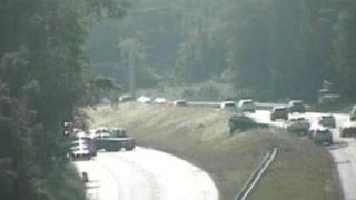 Interstate 84 in Newtown exit 9