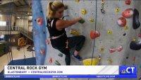 CT LIVE!: Taylor Tries It – Sport Climbing