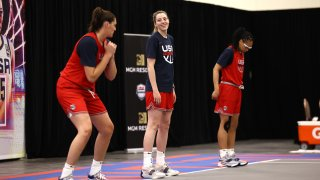 USA Womens National 3x3 Team Practice