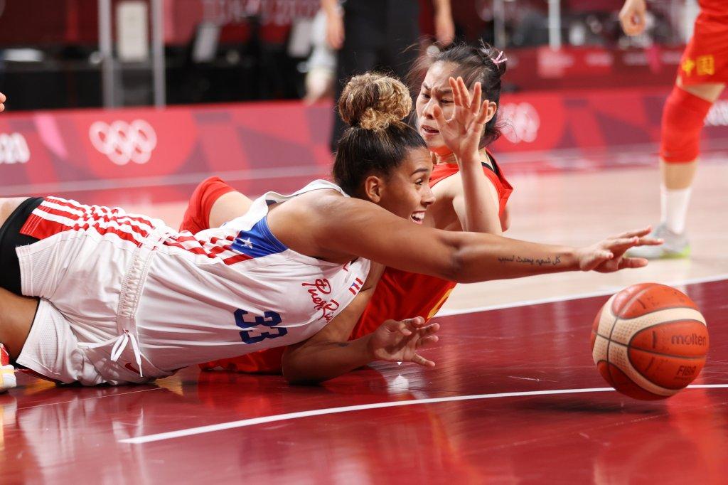 Puerto Rico v China Women's Basketball - Olympics: Day 4