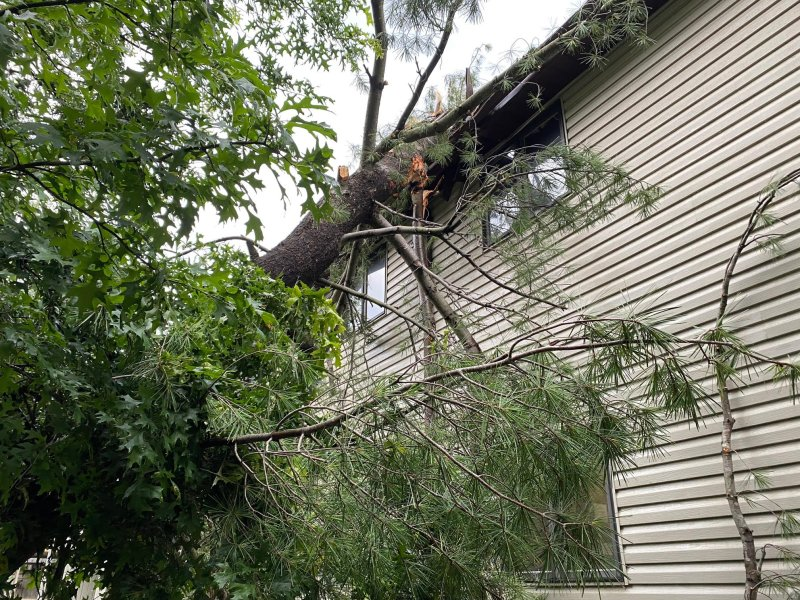 Storm Damage Tuesday, July 6, 2021