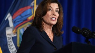 Watch: New York Lt. Gov. Kathy Hochul Speaks for First Time Since Andrew Cuomo's Resignation