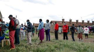 Virus Outbreak Donation Dependency Kenya