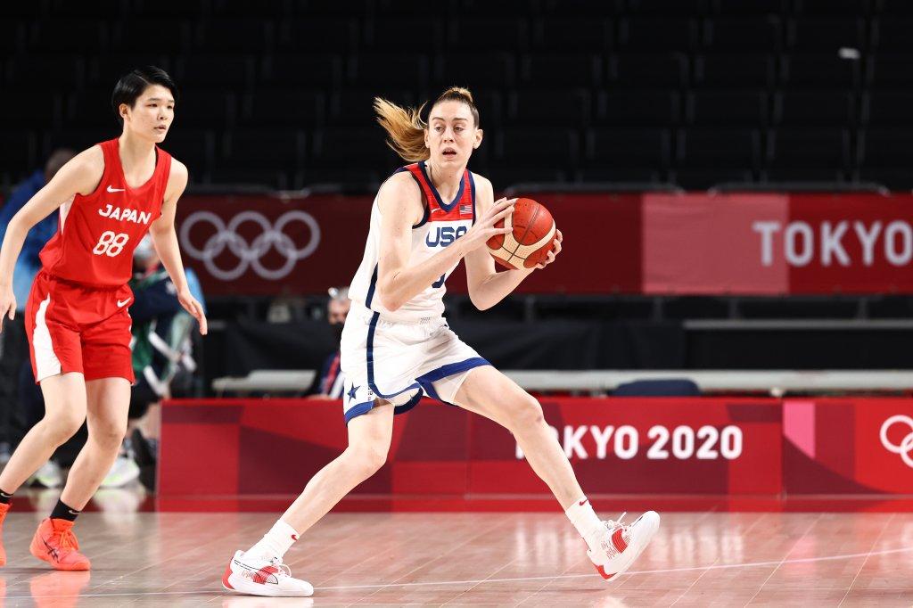 2020 Tokyo Olympics: USA v Japan