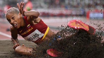 Rojas Sets World Record in Women's Triple Jump, Orji Claims Seventh for USA