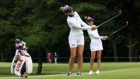 World No. 1 Nelly Korda, Team USA Kick Off Women's Golf Tournament
