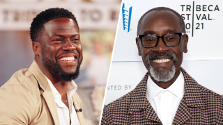 Kevin Hart and Don Cheadle