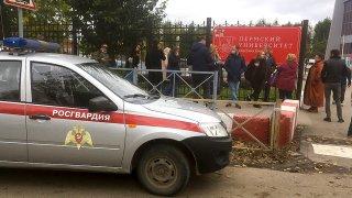 Russia University Shooting