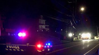 Crash on Oakland Road in Southington