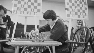 Chess Champion Nona Gaprindashvili
