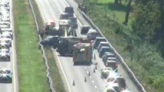 Delays on route 15 in Meriden