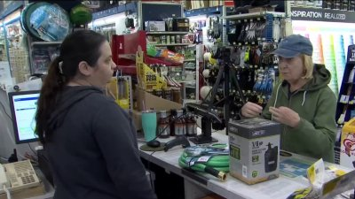 Connecticut Residents Prepare for High Winds Overnight