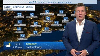 Overnight Forecast for October 16, 2021