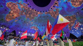 opening ceremony of the Dubai Expo 2020