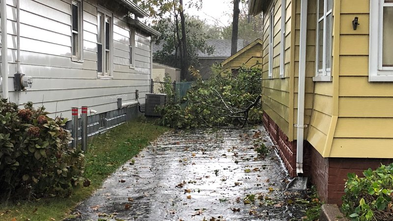 Photos: October Nor'easter Brings Rain, Wind to CT