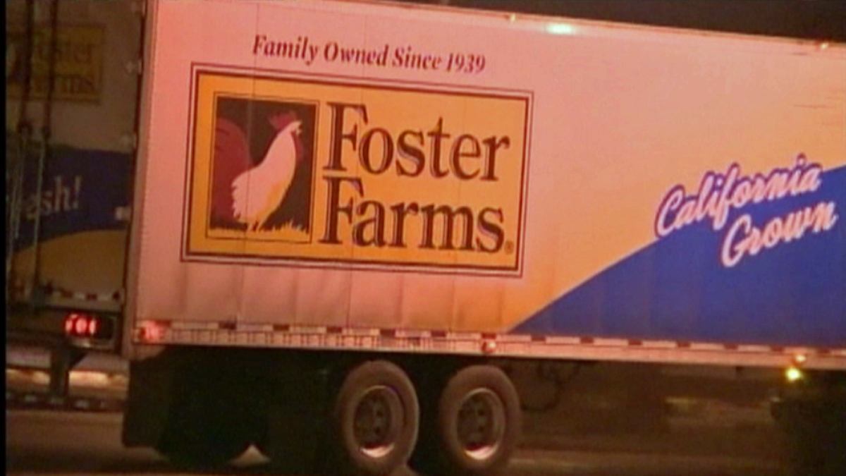 A Foster Farms truck is seen in this file image.