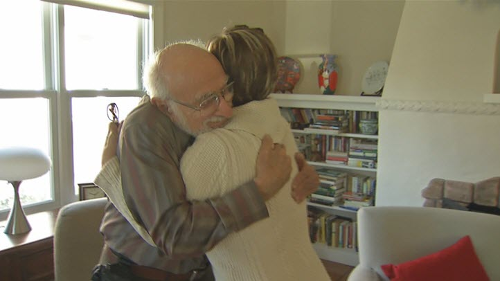 Leticia Bustos was reunited with the Sherman family after losing contact with them for more than 40 years.