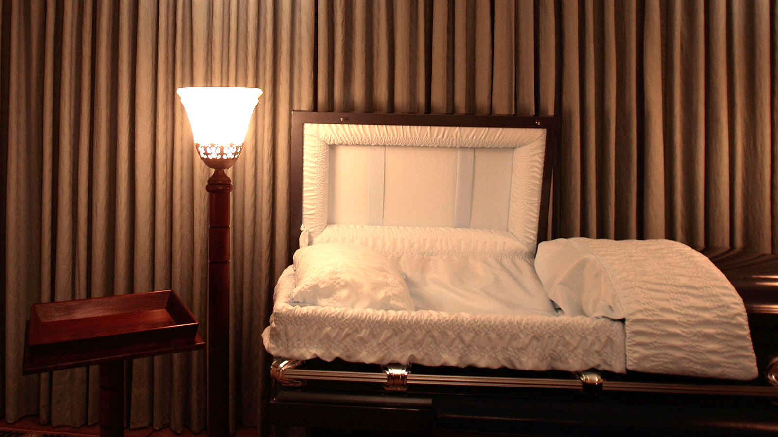 A file image of a coffin.