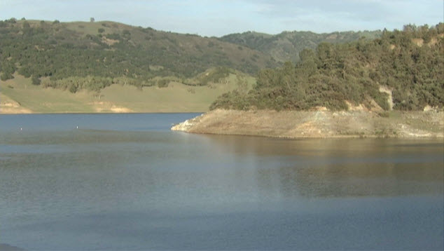 The Anderson Reservoir dam is in need of repairs and seismic renovations.