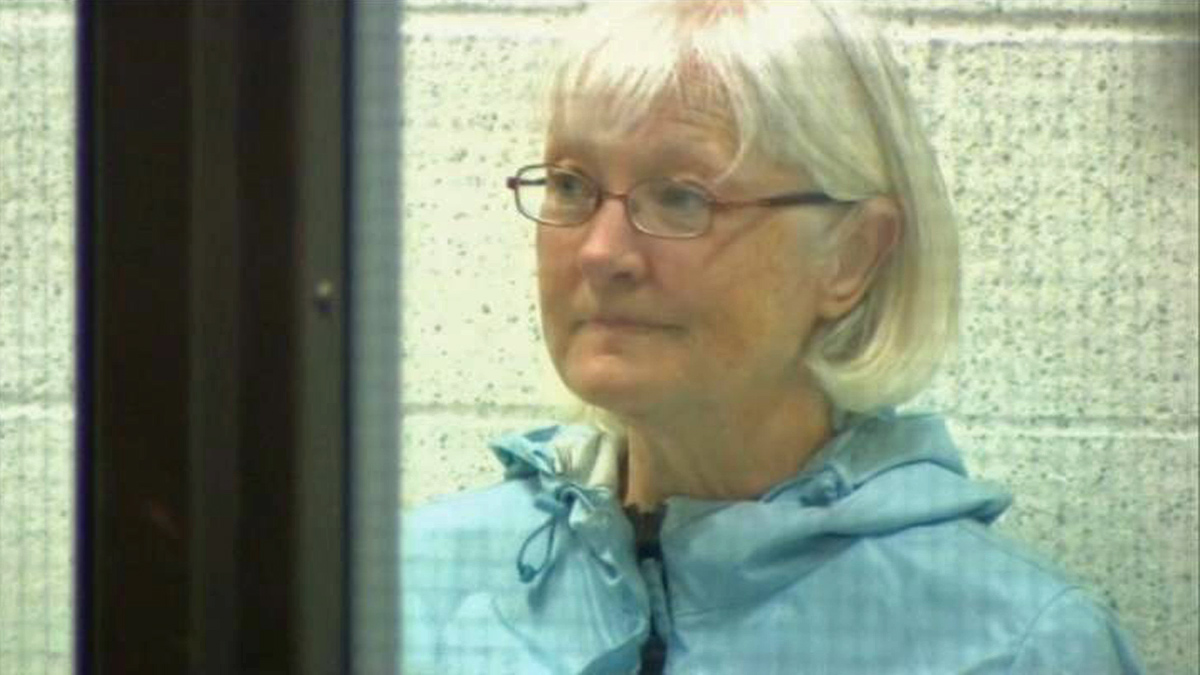 Marilyn Hartman, 62, was charged in connection with willfully and unlawfully entering Los Angeles as a stowaway on an aircraft, a misdemeanor, Wednesday, Aug. 6, 2014. She was re-arrested at LAX Thursday, Aug. 7, 2014.
