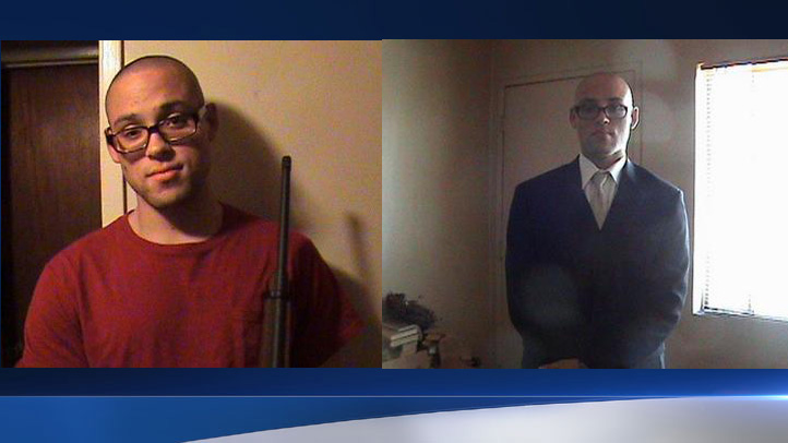 Former neighbors have identified the man in these photos as Chris Harper Mercer who went on a deadly shooting rampage at an Oregon college and died in an exchange of gunfire with police on Thursday, Oct. 1, 2015.
