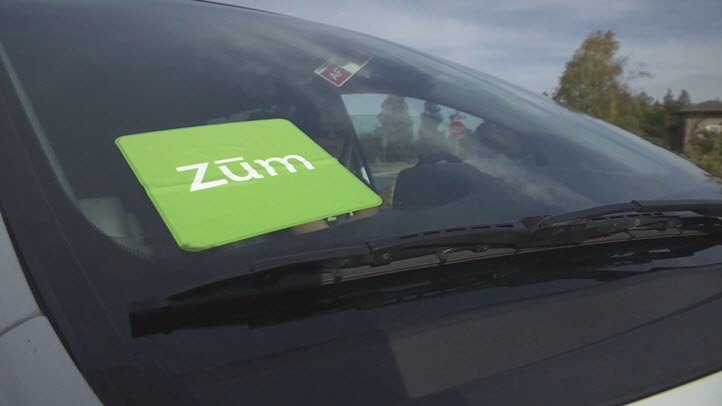 Zum is one of a handful of start-ups making inroads in the ride-hailing industry.