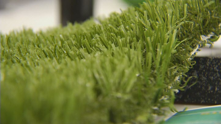 File image of artificial turf.