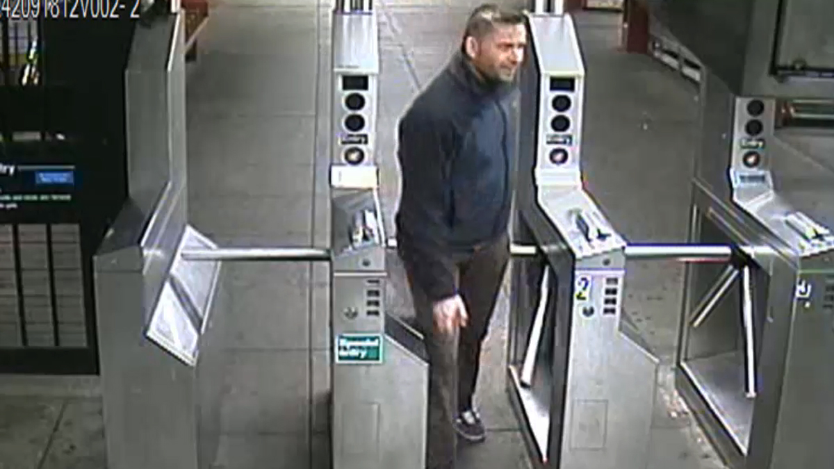 NYPD released a surveillance video with this image of the suspect in the Dec. 23 attack on an MTA employee.