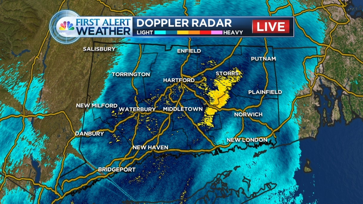 High wind gusts and possible showers are in the forecast, according to NBC Connecticut First Alert Meteorologist Monica Cryan.