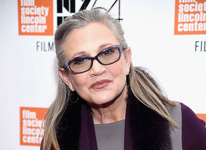 NEW YORK, NY - OCTOBER 10: Carrie Fisher attends the 54th New York Film Festival - 'Bright Lights' Photo Cal on October 10, 2016 in New York City. (Photo by Dimitrios Kambouris/Getty Images)