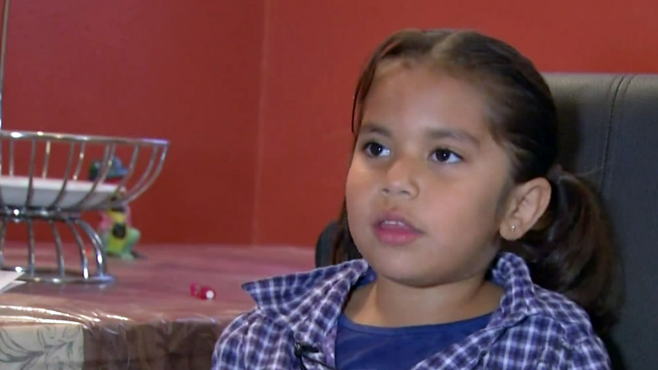 A 6-year-old Hemet girl was credited with saving her mother's before Mother's Day when the woman had a medical episode on Saturday, May 9, 2015.