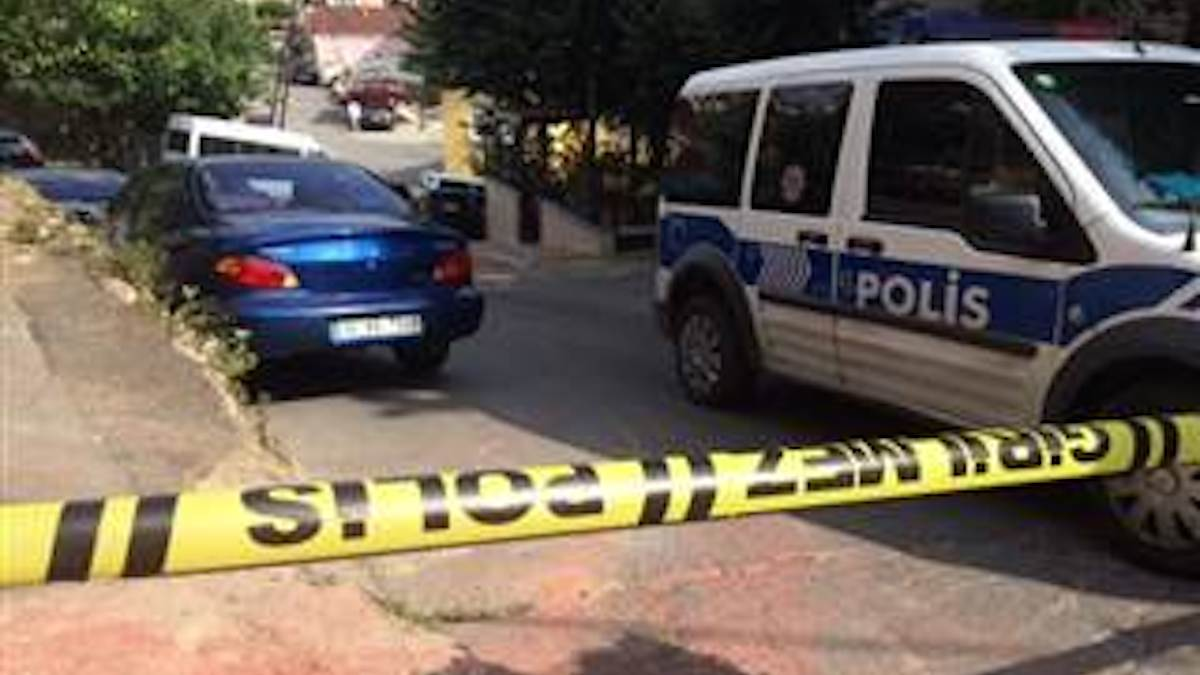 Streets near the U.S. Consulate in Istanbul, Turkey, were sealed off Monday.