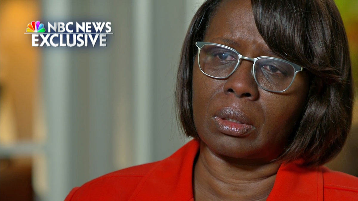 Felicia Sanders is one of three people who survived the Charleston church shooting that left nine dead.