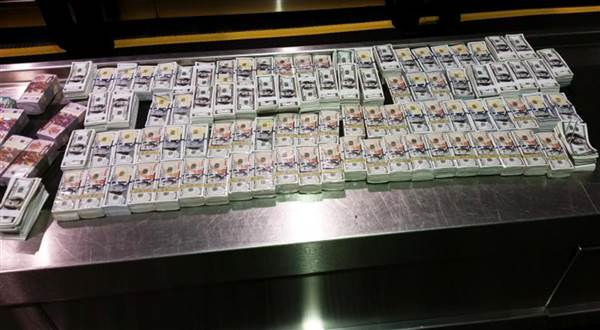 Customs and Border Protection officers seized $4.65 million in counterfeit