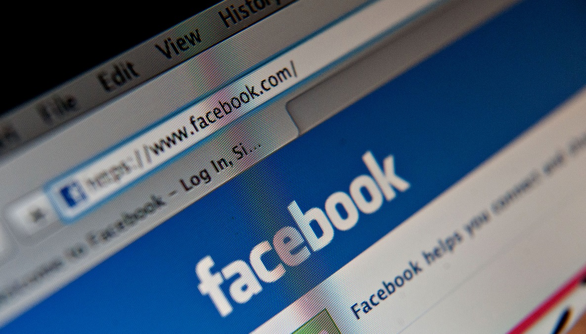 A Facebook Inc. logo is displayed at the top of the login page for facebook.com on a computer screen in Tiskilwa, Illinois, U.S., on Tuesday, Jan. 29, 2013. Stock photo.