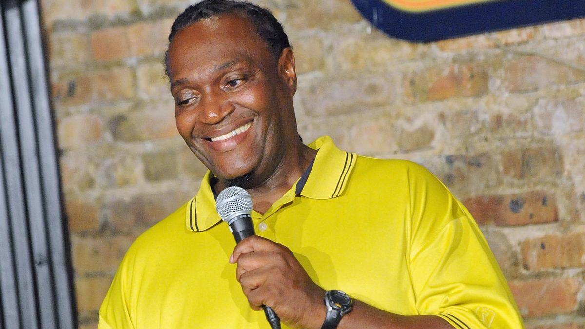 Jimmy Mack performs at The Stress Factory Comedy Club on August 31, 2013 in New Brunswick, New Jersey. Mack died in a crash that critically injured Tracy Morgan.