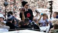 APTOPIX Super Bowl Patriots Parade Football