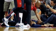 Pacers' George Suffers Gruesome Leg Injury