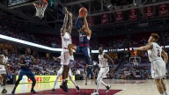 Adams' Last-Second Shot Lifts UConn Past Temple