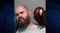 """Bird"" the Bird Poses in Man's Mug Shot After Unlucky Arrest"